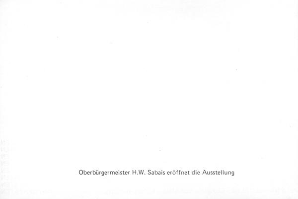 Darmstädter Kunstmarkt, 1978 Flyer 2