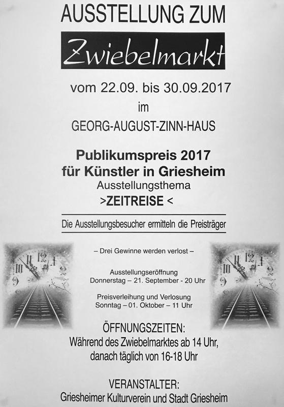 Zwiebelmarkt 2017 Plakat 4