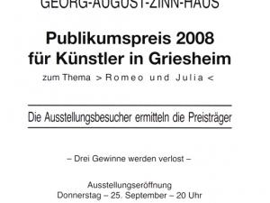 Plakat Zwiebelmarkt 2008