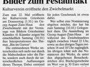 Artikel cj Zwiebelmarkt 2009