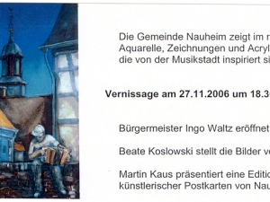 Einladung Nauheim Rathaus 2006