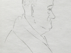 Der Mann im Zug 1973