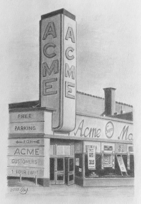 American Supermarket II, die 1950er,  2019