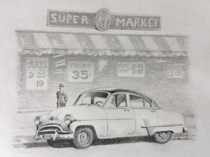 American Super Market, die 1950er, 2019